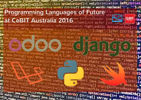 Programming Languages at CeBIT Australia 2016
