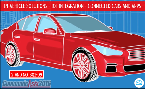 IN Vehicle-Connected Cars and Apps - CommunicAsia 2016
