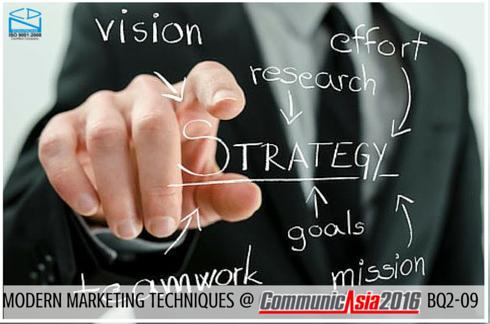 Modern Marketing Techniques - CommunicAsia 2016