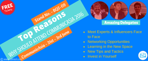 Why Should Attend CommunicAsia 2016 Singapore