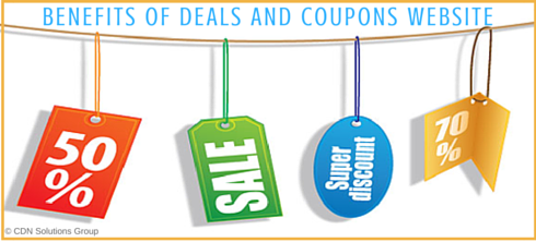 Benefits of Deals and Coupons Website