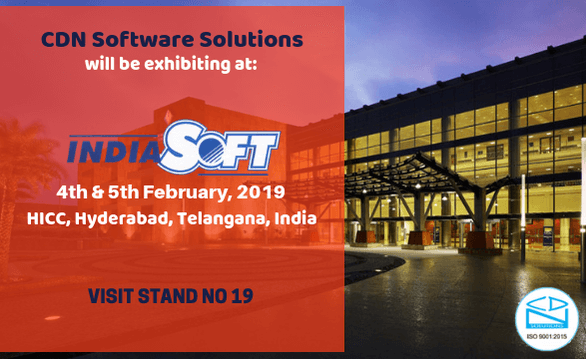 CDN Software Solutions at IndiaSoft 2019