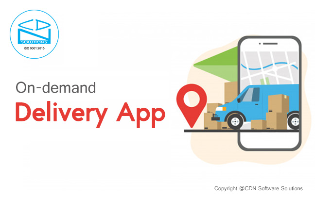 on-demand mobile delivery app