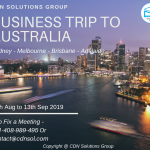 business trip to australia