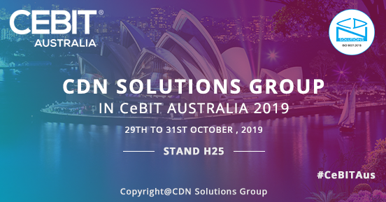 CDN Solutions Group at CeBIT 2019
