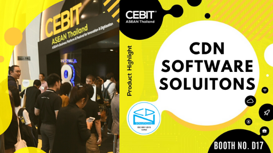 TeamJoin CDN Software Solutions at CeBIT ASEAN 2019