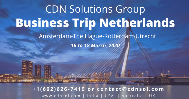 Netherlands Business Trip - CDN Software Solutions