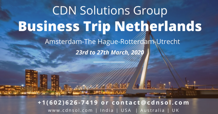 CDN Solutions Group - Business Trip Netherlands
