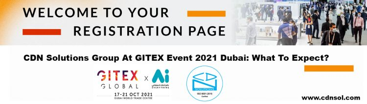 Gitex Technology Event 2021