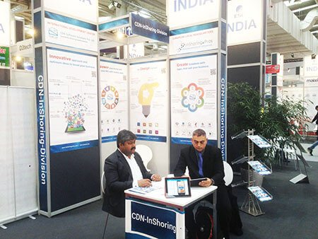 CDN Solutions Group in CeBIT Germany