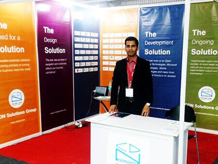 CDN Solutions Group in CeBIT India