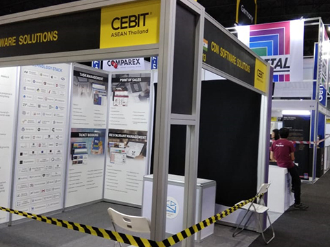 CDN Solutions Group in CeBit Thailand