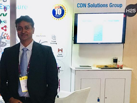 CDN Solutions Group in CeBit Australia