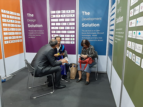 CDN Solutions Group in Cebit Asean Thailand 2019