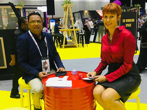 CDN Solutions Group in Gitex 2019