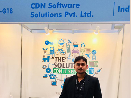 CDN Solutions Group in hktdc ict expo